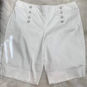 White Black House Market Shorts